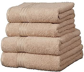 Linens Limited Toalla de baño Extragrande - 100% extraordinario algodón Egipcio Café con Leche: Amazon.es: Hogar