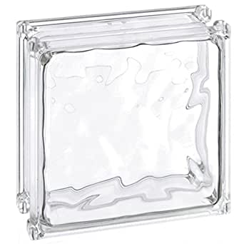 Decorative Acrylic Glass Block Clear 6 L X 6 W