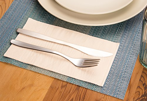 Paper Dinner Napkins - 120-Pack Disposable Napkins, 2-Ply Absorbent Napkins for Everyday Kitchen, Dining, Events, Parties, Ballet Pink, Unfolded 15.5 x 13 Inches, Folded 7.5 x 4.25 Inches by Blue Panda (Image #1)