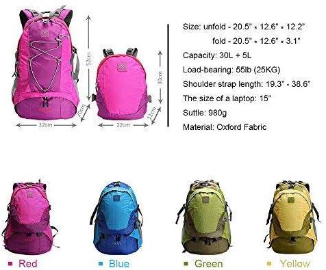 Polar Fire Trekking Mochila de senderismo 30 litros con un paquete desmontable de 5 litros de día, bolsas de vacaciones, apto para padres y niños ...