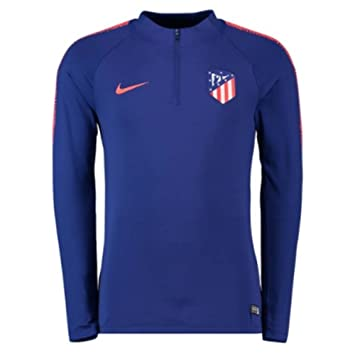 Nike 2018-2019 Atletico Madrid Drill Training Top (Royal Blue)  Amazon. f9d8f4d633deb