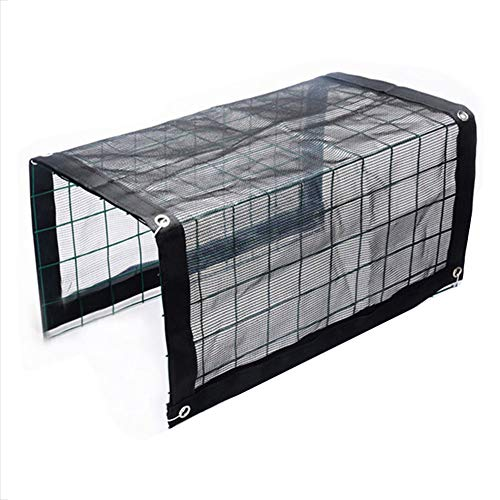 Yagaga Outdoor Mini Greenhouse Iron Stands Shelves, Multifunctional Mini Greenhouse Portable Outdoor Plant Shelves Canopy Rain-Proof Summer Awning