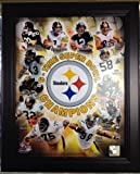 Pittsburgh Steelers 6 Time Super Bowl Champions Framed 11x14 Photo