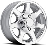 15'' TRAILER STOCK UTILITY 6 LUG 7 SPOKE ALUMINUM WHEEL RIM T02-56655T