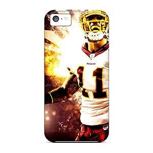 EricHowe Iphone 5c Great Hard Phone Cases Unique Design Lifelike Washington Redskins Pictures [ngy2221rwNd]