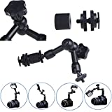 EC™ 7 Inch Articulating Magic Friction Arm for DSLR Camera Rig/LCD Monitor/DV Monitor/LED Lights/Flash Light