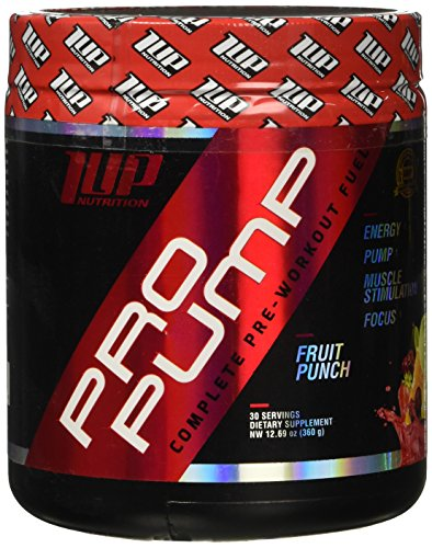 1 UP NUTRITION Pro Pump, Fruit Punch, 0.69 Pound