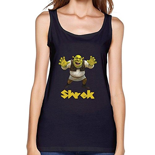 OULIN Women's Shrek Vest Black XXXL ()