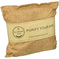 500g Bamboo Charcoal Air Purifying Bag Natural Air Freshener Odor Absorber Eliminator & Deodorizer Removes Moisture, Allergens in Your Bathroom, Kitchen, Car, RV, Closet By Bamboo Air