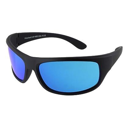 Gafas de sol polarizadas EREBOS | Cat. 4 especialmente oscuras | Protección UV 400 | Para sol extremo: montaña y mar | En caso de fotofobia | Gafas de ...