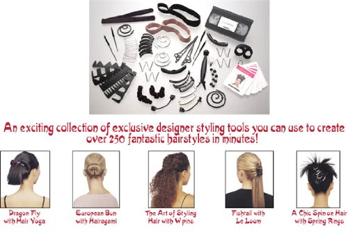 Haarpflege & -Styling Haarschmuck - Erstellen viele verschiedene Frisuren