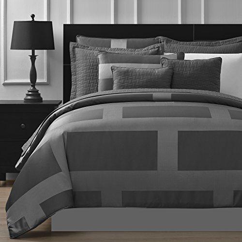 Comfy Bedding Frame Jacquard Microfiber 5-Piece Comforter Set
