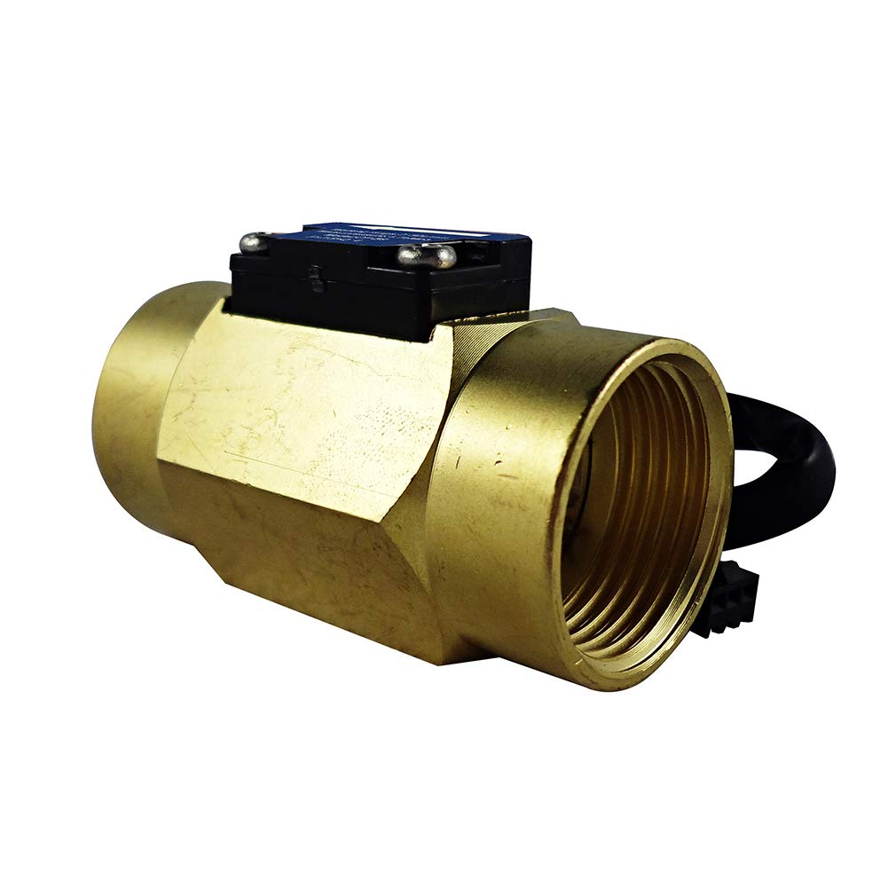 Digiten G3//4Female Thread Water Flow Hall Sensor Switch Flowmeter Counter 2-50L//min