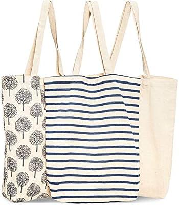 Bolsas reutilizables para comestibles, 3 unidades, 3 diseños ...