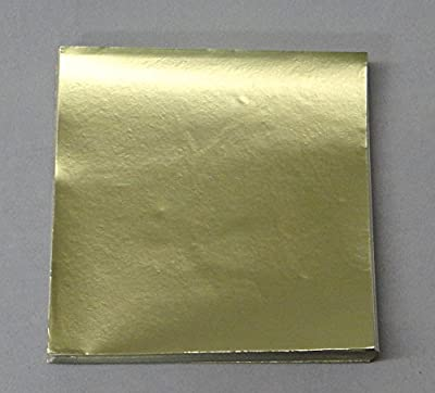 """3"""" x 3"""" Dull Gold Confectionery Foil Wrappers Candy Wrappers Candy Making Supplies"""