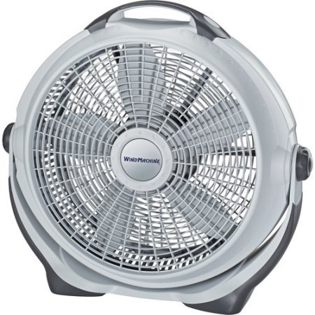 Lasko 20 inch 3 Speed Quiet Air Circulator Wind Machine Portable Pivoting Fan With Durable Plastic Frame by Lasko