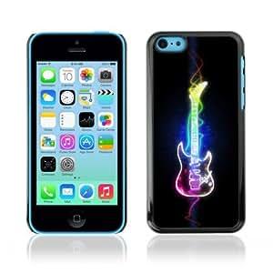MMZ DIY PHONE CASEYOYOSHOP [Cool Neon Art Guitar] Apple iphone 6 plus 5.5 inch Case