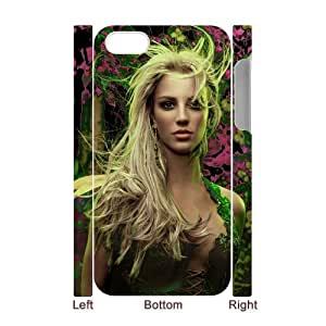 D-PAFD Diy hard Case Britney Spears customized 3D case For Iphone 4/4s