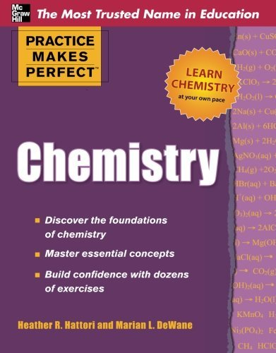 Practice Makes Perfect Chemistry (Practice Makes Perfect Series) by Marian DeWane (2011-05-31)