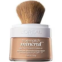 L'Oreal Paris True Match Naturale Gentle Mineral Makeup, Classic Beige, 0.35...
