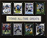 NFL Tennessee Titans All-Time Greats Plaque