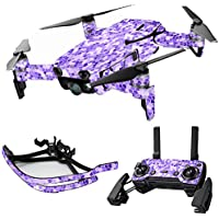 MightySkins Skin for DJI Mavic Air Drone - Stained Glass | Max Combo Protective, Durable, and Unique Vinyl Decal wrap cover | Easy To Apply, Remove, and Change Styles | Made in the USA
