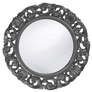Howard Elliott 2170CH Glendale Mirror, Charcoal Gray
