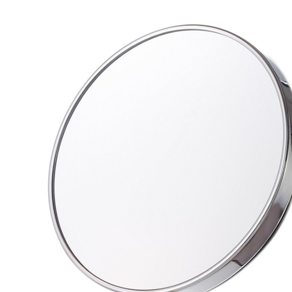 HGXC Makeup Mirror, Bathroom Wall Suction HD Beauty Skin Care Shaving Nail Wall Mirror 15cm / 20cm Mirror (Size : 15cm)