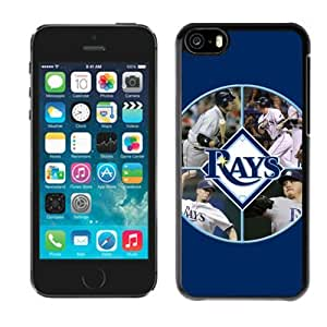 SevenArc 2014 Sytle MLB Tampa Bay Rays iphone 5C Case Cover For MLB Fans