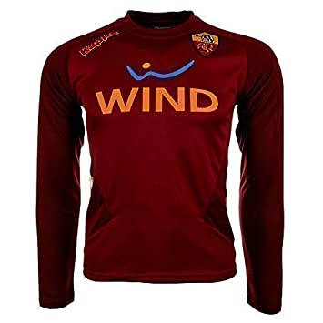 hot sale online 388c0 93b26 AS Roma Kappa Long-Sleeved Training Shirt Red red Size:XXXL ...