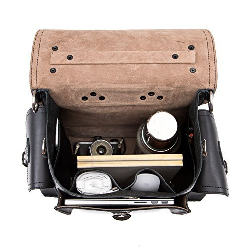 Saddleback Leather Squared Backpack - Best Backpack for School, Business, Travel - 100 Year Warranty by Saddleback Leather Co. (Image #4)