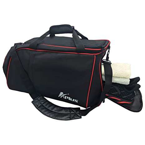 0d1542327d Gym Bag with Shoe Compartment Large Waterproof Workout Duffle Bag for Men  and Women by Aplus