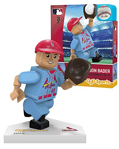 Harrison Bader St. Louis Cardinals Blue OYO Sports Toys G5 Series 2 Minifigure