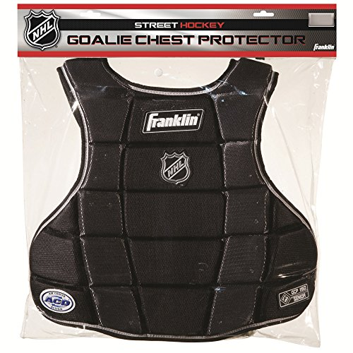 Street Goalie (Franklin Sports Hockey Goalie Chest Protector - NHL - 12.5 Inches)