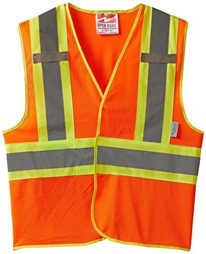 Buy now Viking Open Road BTE Hi-Vis Reflective Safety Vest, Orange, Large/X-Large