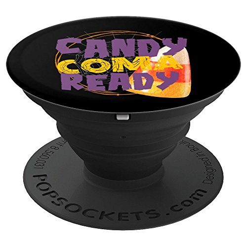 Candy Coma Ready Halloween Party Favor Goody Bag Gift - PopSockets Grip and Stand for Phones and Tablets -