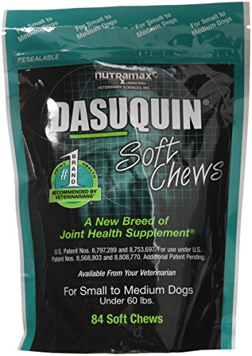 Nutramax Dasuquin Soft Chews, Small/Medium Dog, 84 Count