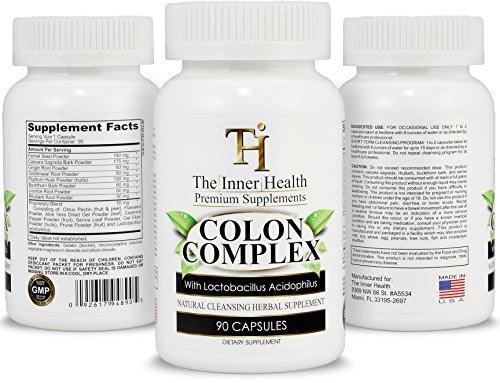 Cheap Colon Cleanse Detox Formula – Supporting Your Gut Health, Purification & Weight Loss – Containing Aloe Vera, Licorice Root, Lactobacillus Acidophilus Probiotic & More – 100% Money Back Guarantee