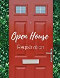 img - for Open House Registration: Real Estate Agents Guest & Visitors Signatures - Prospects Sign In Registry Book - Red Door - Property Developers book / textbook / text book