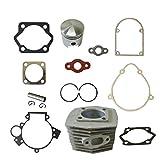 New Cylinder&Piston&Pin Clips Wrist&Gasket Set Fit 80cc Motorized Bicycle Bike Motor