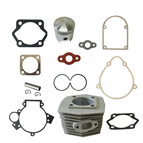 - New Cylinder&Piston&Pin Clips Wrist&Gasket Set Fit 80cc Motorized Bicycle Bike Motor