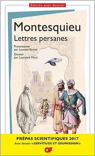 En ligne Lettres persanes - Prépas scientifiques 2016-2017 epub, pdf