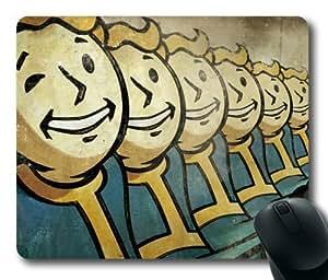 Customizablestyle Vault Boy, Fallout New Vegas Mousepad, Customized Rectangle DIY Mouse Pad