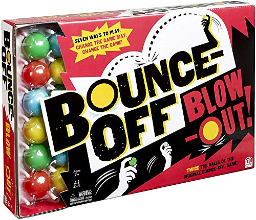 Mattel Games Bounce-Off Blow-Out Game