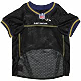 Pets First NFL Baltimore Ravens Jersey, X-Small, My Pet Supplies