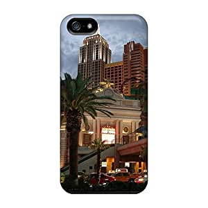 Snap-on Las Vegas Case Cover Skin Compatible With Iphone 5/5s