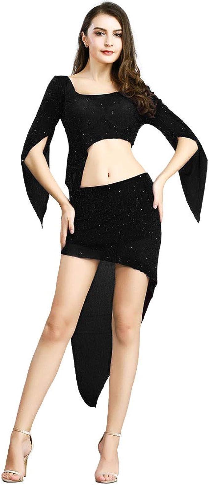 Amazon.com: ROYAL SMEELA - Disfraz de danza del vientre para ...