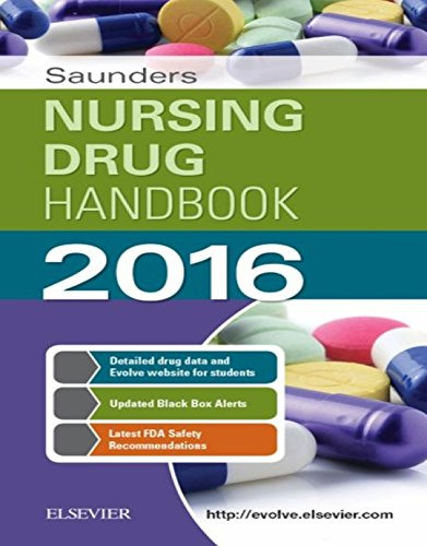 Download Saunders Nursing Drug Handbook 2016 Pdf