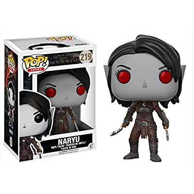 Funko POP Games Elder Scrolls Naryu Action Figure: Artist Not Provided: Toys & Games