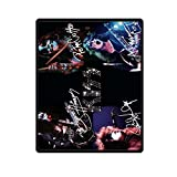 Custom Cool Kiss Rock Band Bed/Sofa Soft Throw Fleece Blanket 40